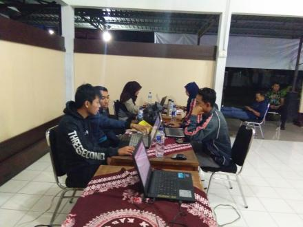 Perbaikan DPSHP Desa Gadingsari oleh PPS Gadingsari